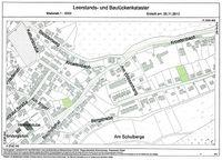 Baulückenbörse Übersichtsplan Bergstadt Lautenthal
