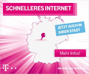 Externer Link: Linkbild Telekom - schnelleres Internet