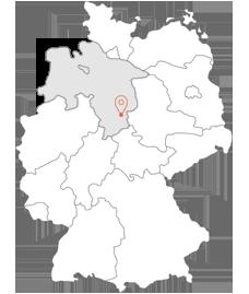 Langelsheim - hier finden Sie uns